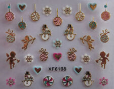 Decorazioni multicolore metallici per unghie