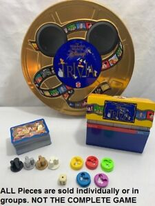 U-PICK The Wonderful World of Disney Trivia Game Replacement Parts Pieces