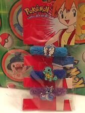 Pokemon Plush Butterfree Dratini Squirtle Hair Tie Set card stuffed doll figure
