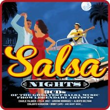SALSA NIGHTS (LIMITED METALBOX; CELIA CRUZ, BOBBY CAPO, ...)  3 CD NEW+