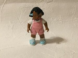 Fisher Price Loving Family Dream Dollhouse African American Girl Pink Doll