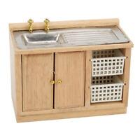 1:12  DIY Assembly Miniature Dollhouse Furniture Model Kit - Kitchen Dish