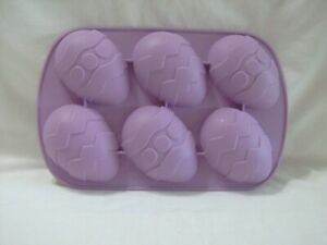 WILTON EASTER EGG CUPCAKE BROWNIE MUFFIN CANDY CHOCOLATE SILICONE MOLD JELLO