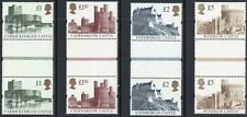 More details for 1992 sg 1611/1614 castles high value gutter pairs unmounted mint set of 4