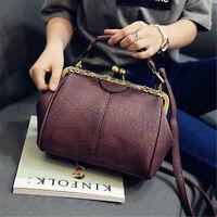 Women Lady Leather Vintage Shoulder Messenger Bag Crossbody Tote Handbag Purse
