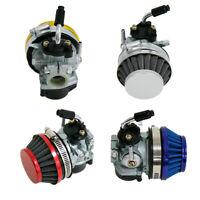 Hot H/P Colorful Air Filter Carburetor For 49cc 60cc 80cc Motorized Bike Part