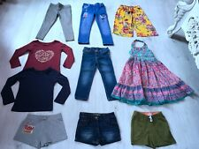GIRLS CLOTHES BUNDLE AGE 4-5 YEARS 10 ITEMS jeans shorts dress top NEXT GAP