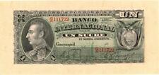 Ecuador Banco Internacional Banknote 1 Sucre 1892  CU