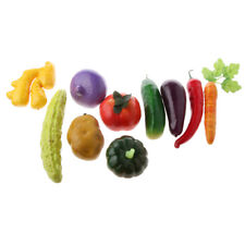 Vivid Artificial Vegetables / Fruits Toy Imitation Food Home Store Cabinet Decor