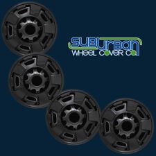 """'11-18 GMC Sierra 2500 3500 SLE # IMP411BLK 17"""" GLOSS BLACK Wheel Skins SET/4"""