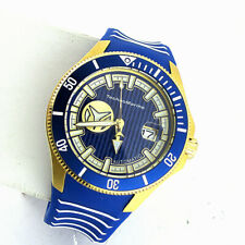 Technomarine TM118013 Cruise Automatic Mens Date Watch Blue Silicone Band