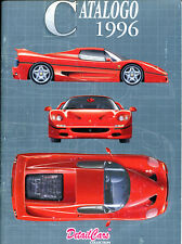 DETAIL CARS 1996 Catalog Featuring 1/43 Scale Model Cars! (In Italian) NEAT!