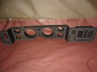 79-81 CAMARO RS Z28 FRONT DASH BEZEL #2 USED 476637 CAME OUT A 1981 CAMARO