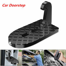 Car Doorstep Vehicle Folding Ladder Foot Pegs Safety Hammer Vehicle