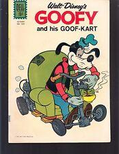 GOOFY AND HIS GOOF-KART #1201 DELL/ 4-COLOR 1961    FN  WALT DISNEY-MOVIE/TV