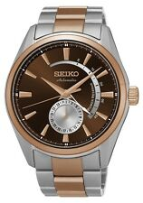 Seiko SSA308 SSA308J1 Presage Platinum Mens Automatic Watch Two-Tone RRP $1050