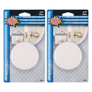 Wall Protector Door Knob Protector Shepherd Hardware 9551 Paintable White 2-Pack