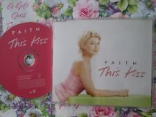 Faith Hill ‎– This Kiss Label: Warner Bros. Records W463CD CD Single