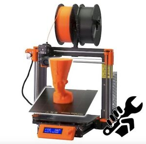 *UK STOCK* New & Sealed Original Prusa i3 MKS3S+ 3D Printer Kit - Colour Orange