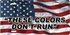 These colors don't run on American Flag Plate