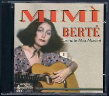 MIA MARTINI MIMI' BERTE' IN ARTE MIA MARTINI CD F.C.