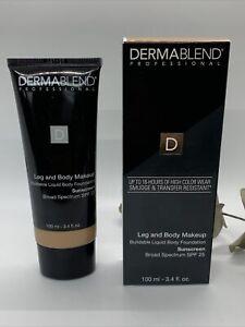 Dermablend Leg and Body Makeup Body Foundation SPF 25 Light Beige 35C 3.4 oz