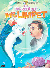 The Incredible Mr. Limpet (DVD, 2002)