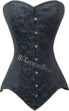 Heavy duty Double Steel Boned over Bust waist Training Brocade corset hi-72