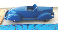 ~TOOTSIETOY~NO 233 BOAT TAIL ROADSTER~1947-1952~BLUE~