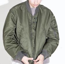 Engineered Garments Reversible Bomber Flight jacket Olive green Khaki S Unisex
