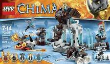 NEW LEGO CHIMA Mammoth's Frozen Stronghold 70226 Rhino Roller Rogon 5 Figure NIB