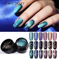 NICOLE DIARY 5ml Cat Eye UV Gel Polish 5D Magnetic Soak Off Nail Gel Varnish