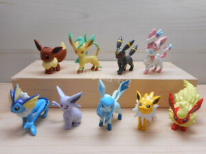 5cm eevee evolution action figure toys Monster Collection Flareon Figurine