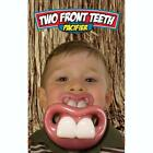 BILLY BOB TWO FRONT FAKE TEETH CHILDRENS PACIFIER novelty baby pacifer teether
