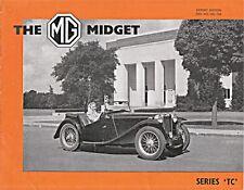 MG Midget Series TC ORIGINALE Nuffield esportazioni BROCHURE DI VENDITA nel 73a