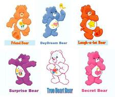 Care Bears -  Bear 6 pack #3  T-shirt Iron on transfer 8x10