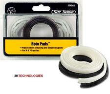 Woodland Tidy Track TT4562 - Spare Parts -  Roto Pads for Roto Wheel Cleaner 1st