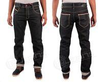 ETO Mens Casual Cotton Straight Jeans in Blue Indigo Colour All Sizes W28 - W38