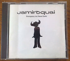 JAMIROQUAI 'Emergency on Planet Earth' CD album 1993 1990s pop acid jazz