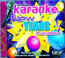 DJ's Choice CD+G NEW YEARS KARAOKE HOLIDAY PARTY MUSIC w/ LYRICS! AULD LANG SYNE