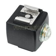 SYK-3 Wireless Slave Trigger Hot Shoe Sync Adapter for Canon Nikon Pentax flash