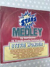 "StarSound* – Stars On Stevie Label: CBS – A 13-2041 12"" promo single"