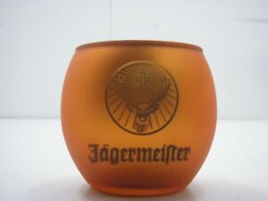 Jagermeister Liquer Advertising Round Glass Cup (Mirror inside)