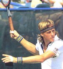 Retro BJ Borg Wristbands & Fila Headband 100% Authentic-Tennis-Fancy Dress.