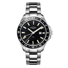 Rotary GB05017-04 Men's Havana Stainless Steel Wristwatch