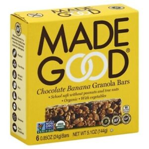 Made Good Chocolate Banana Granola Bars