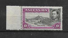 Ascension:1938/53:KGVI-10s.Stamp.Mint.Cat £110+