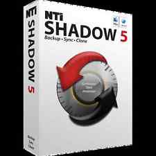 NTI Shadow 5 for Mac,  Back up, Sync and Clone Data and Partitions for Mac