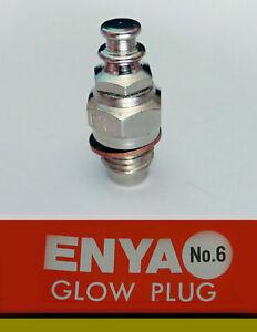 10x ENYA Glow Plug (cold) Number 6 *UK STOCK*