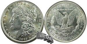 1889 P Morgan Silver Dollar   62B